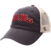 Zephyr Men's Ole Miss Rebels Blue/White University Adjustable Hat