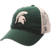 Zephyr Men's Michigan State Spartans Green/White University Adjustable Hat