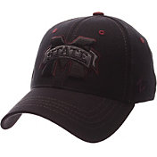 Zephyr Men's Mississippi State Bulldogs Black Element ZClassic Flexfit Hat