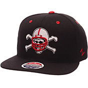 Zephyr Men's Nebraska Cornhuskers Black Z-Wool Z11 Football Snapback Hat