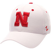 Zephyr Men's Nebraska Cornhuskers White DH Fitted Hat