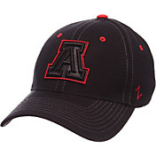 Zephyr Men's Arizona Wildcats Black Element ZClassic Flexfit Hat