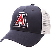 Zephyr Men's Arizona Wildcats Navy/White Big Rig Adjustable Hat
