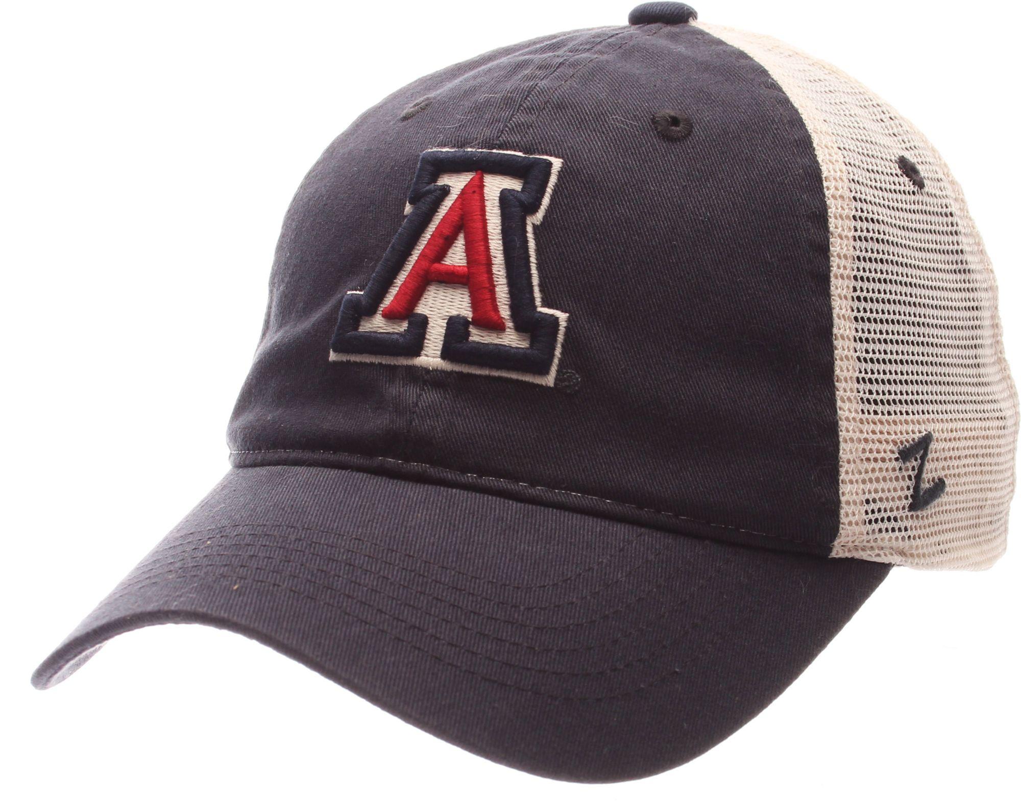 b9fa5a40 ... wholesale zephyr mens arizona wildcats navy white university adjustable  hat 2c824 c2164