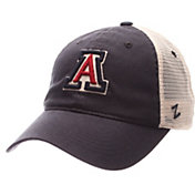 Zephyr Men's Arizona Wildcats Navy/White University Adjustable Hat
