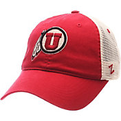 Zephyr Men's Utah Utes Crimson/White University Adjustable Hat