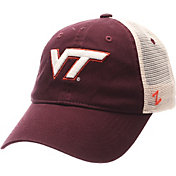 Zephyr Men's Virginia Tech Hokies Maroon/White University Adjustable Hat