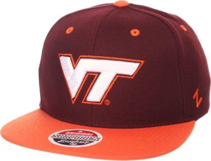 Zephyr Men s Virginia Tech Hokies Maroon Burnt Orange Z-Wool Z11 ... 4512520ed6fe