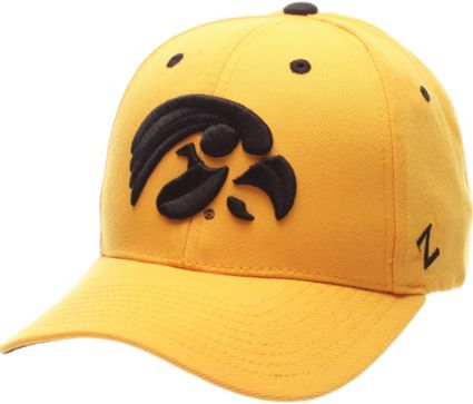 finest selection 9fbfc d748b ... wholesale zephyr mens iowa hawkeyes gold competitor adjustable hat  e3a27 d41cf