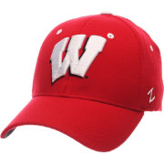 Zephyr Men's Wisconsin Badgers Red ZH ZClassic Flexfit Hat