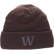 Zephyr Men's Washington Huskies Grey Cuffed Knit Beanie