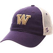 Zephyr Men's Washington Huskies Purple/Cream Mesh Trucker Snapback
