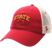 Zephyr Men's Iowa State Cyclones Cardinal/White University Adjustable Hat