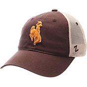 Zephyr Men's Wyoming Cowboys Brown/White University Adjustable Hat