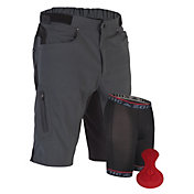 ZOIC Men's Ether Cycling Shorts with Essential Liner