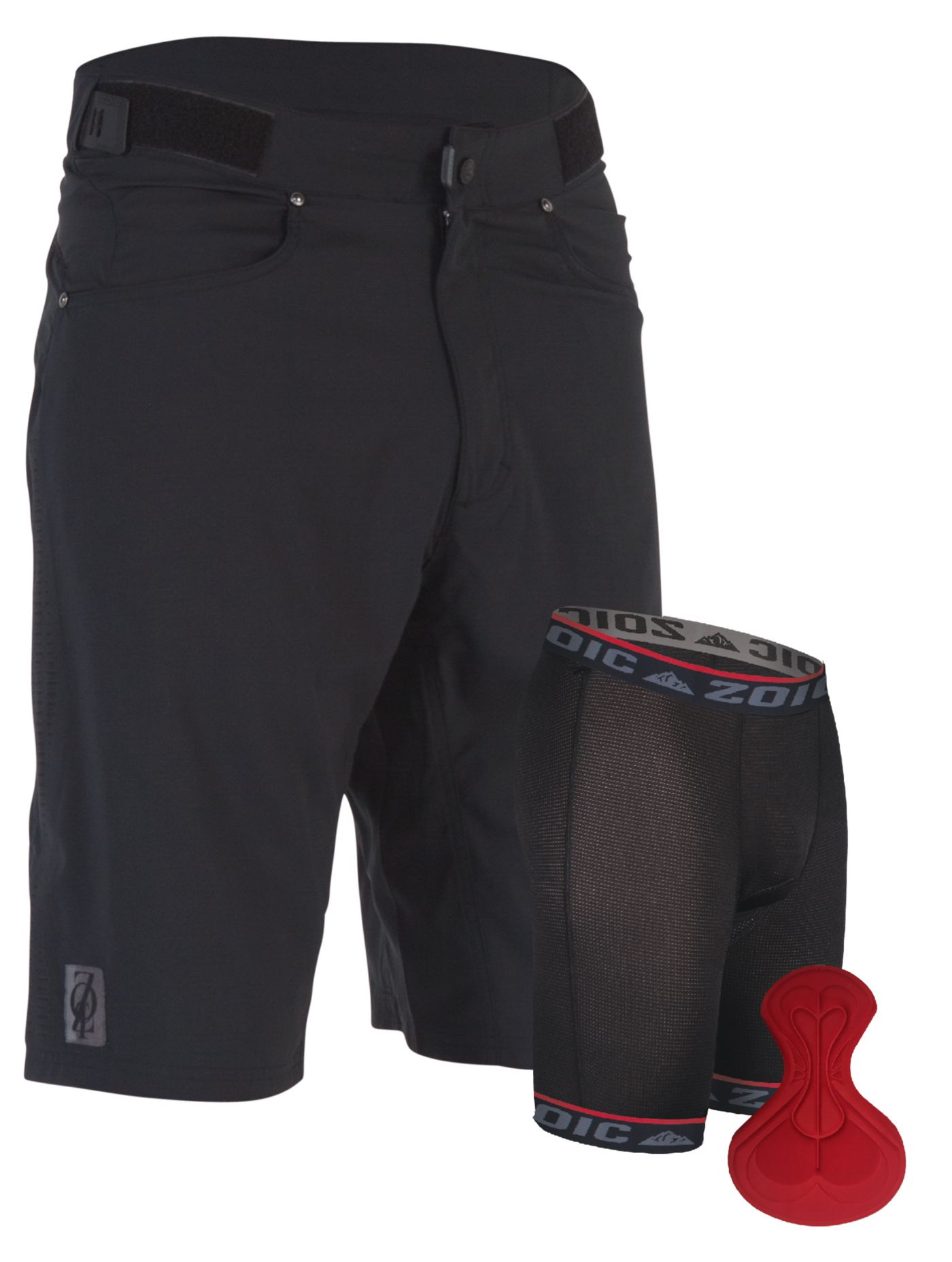 ZOIC Men's Ether SL Cycling Shorts with Essential Liner