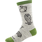 Darn Tough Women's Woodland Creatures Light Cushion Crew Socks