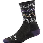 Darn Tough Women's Wandering Stripe Micro-Crew Light Cushion Socks