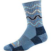 Darn Tough Women's Wandering Stripe Micro-Crew Light Cushion Socks