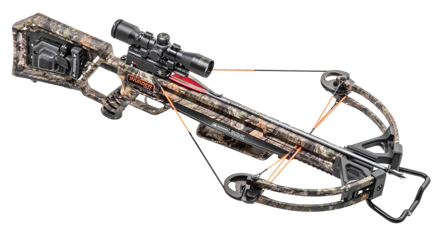 Wicked Ridge Invader X4 Crossbow Package with AcuDraw 50 - 360 fps
