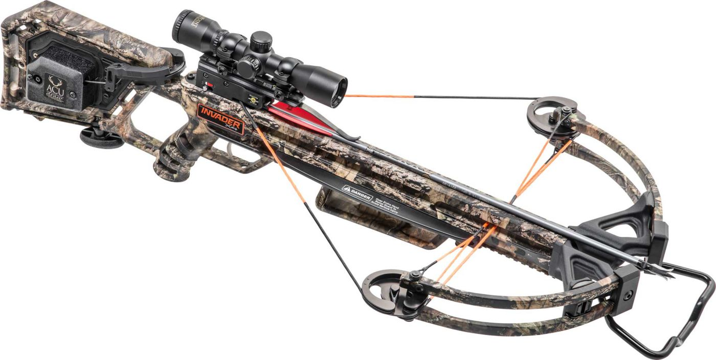 Wicked Ridge Invader X4 Crossbow Package with Multi-Line Scope - 360 fps