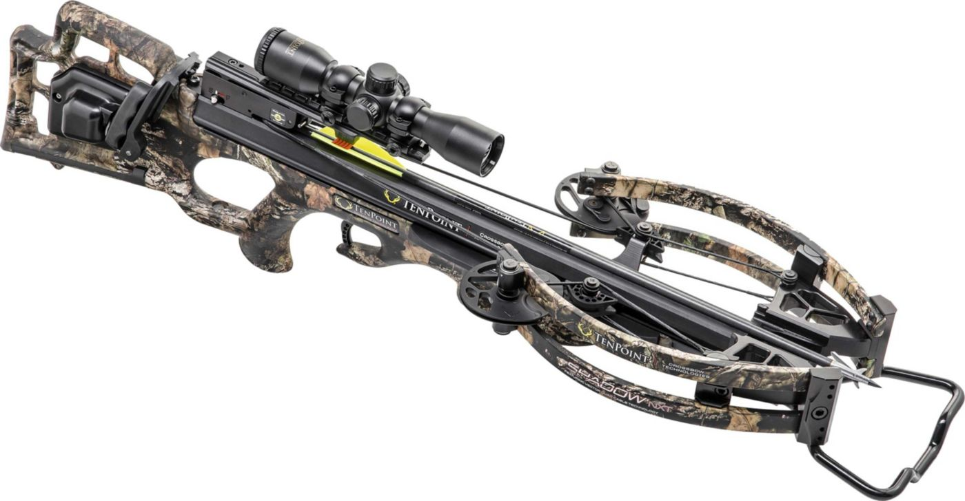 TenPoint Shadow NXT Crossbow Package with AcuDraw 50 Sled - 380 fps