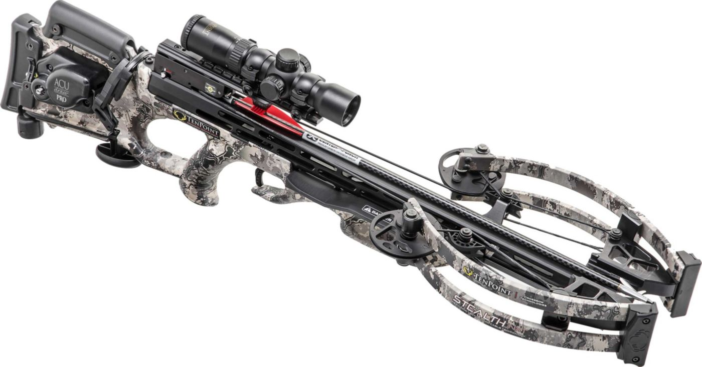 TenPoint Stealth NXT Crossbow Package with AcuDraw Pro - 410 fps