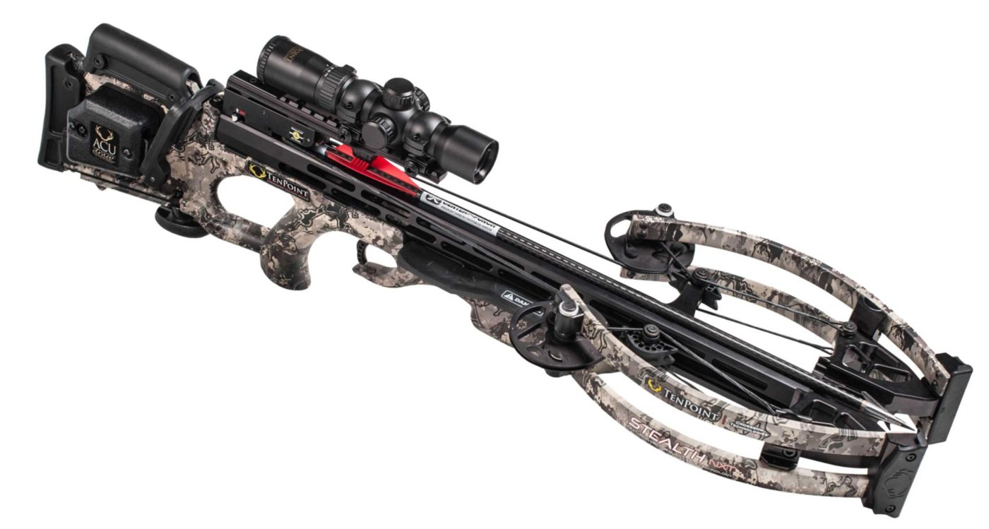 TenPoint Stealth NXT Crossbow Package with AcuDraw - 410 fpsTenPoint Stealth NXT Crossbow Package - AcuDraw