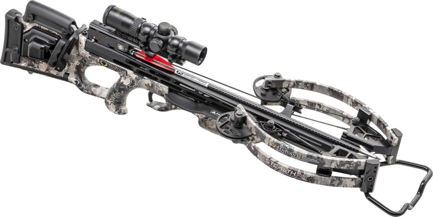 TenPoint Stealth NXT Crossbow Package with AcuDraw 50 Sled - 410 fps