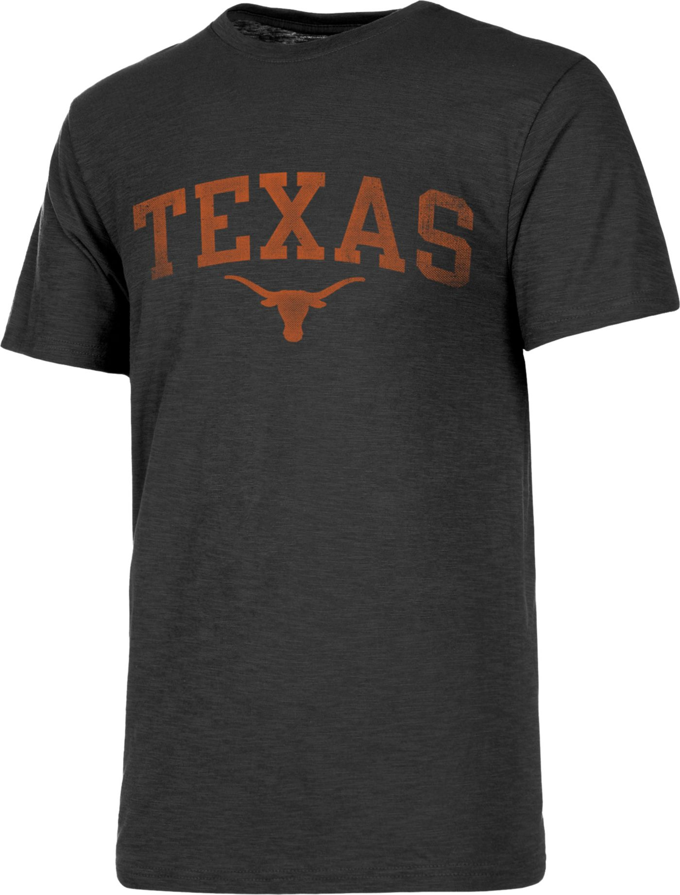 University of Texas Authentic Apparel Men's Texas Longhorns Grey Slub T-Shirt