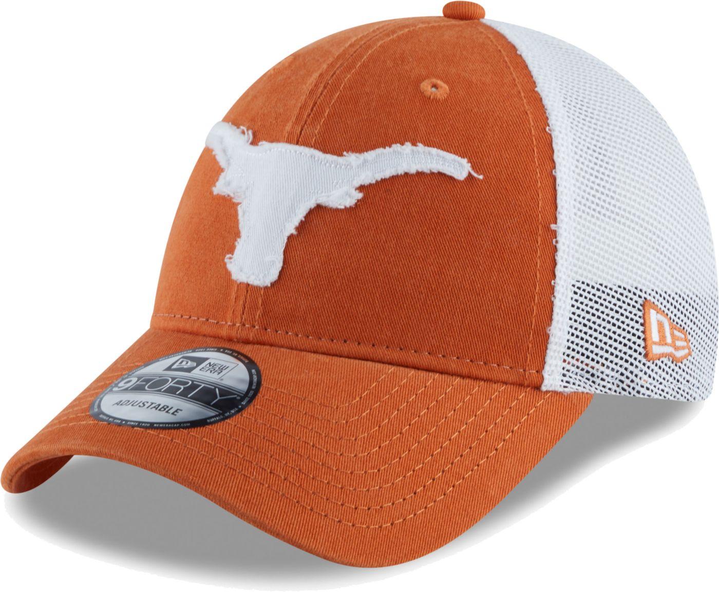 New Era Men's Texas Longhorns Burnt Orange Meshback Hat