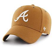'47 Men's Atlanta Braves Carhartt MVP Brown Adjustable Hat