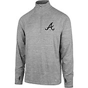 '47 Men's Atlanta Braves Quarter-Zip Pullover