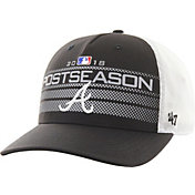 '47 Men's Atlanta Braves 2018 MLB Postseason Locker Room Adjustable Hat
