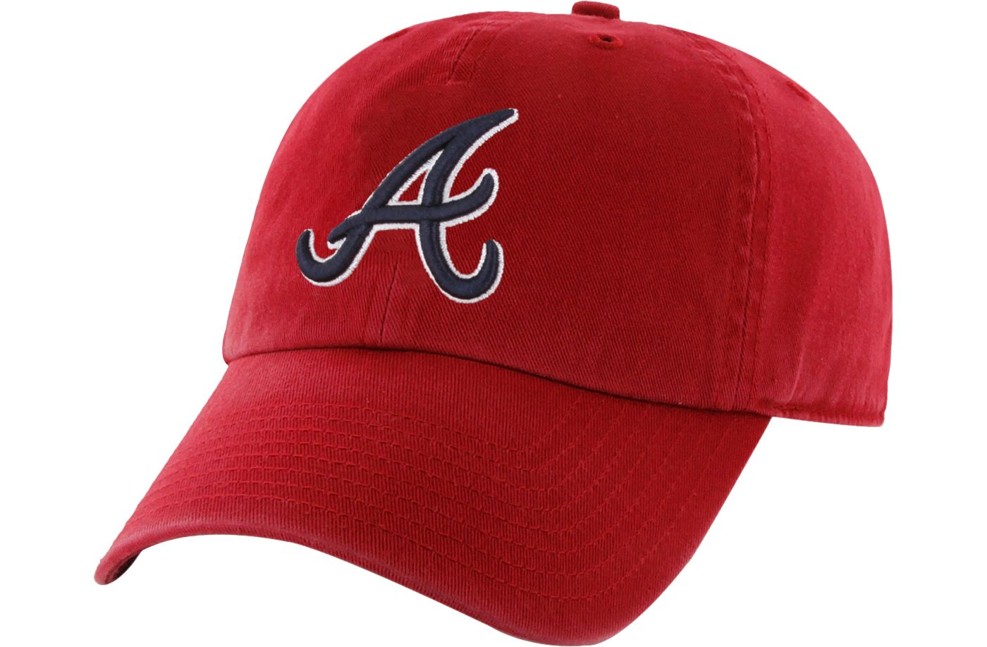 '47 Men's Atlanta Braves Clean Up Adjustable Hat