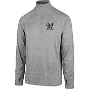 '47 Men's Milwaukee Brewers Quarter-Zip Pullover