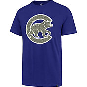 '47 Men's Chicago Cubs Memorial Splitter T-Shirt