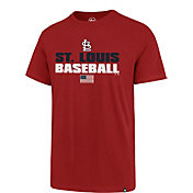 '47 Men's St. Louis Cardinals Americana Splitter T-Shirt