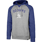 '47 Men's Los Angeles Dodgers Raglan Pullover Hoodie