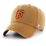 '47 Men's San Francisco Giants Carhartt Clean Up Brown Adjustable Hat