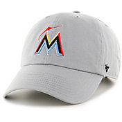 '47 Men's Miami Marlins Clean Up Adjustable Hat