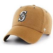'47 Men's Seattle Mariners Carhartt Clean Up Brown Adjustable Hat