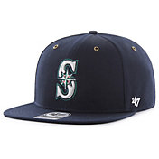 '47 Men's Seattle Mariners Carhartt Captain Navy Adjustable Snapback Hat