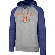 '47 Men's New York Mets Raglan Pullover Hoodie