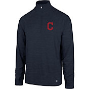 '47 Men's Cleveland Indians Quarter-Zip Pullover