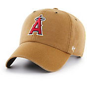 4a6967799ab728 Product Image · '47 Men's Los Angeles Angels Carhartt Clean Up Brown  Adjustable Hat. '