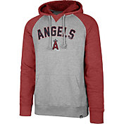'47 Men's Los Angeles Angels Raglan Pullover Hoodie