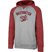 '47 Men's Washington Nationals Raglan Pullover Hoodie