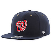 '47 Men's Washington Nationals Carhartt Captain Navy Adjustable Snapback Hat