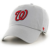 '47 Men's Washington Nationals Storm Clean Up Adjustable Hat